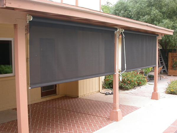 patio shades and blinds